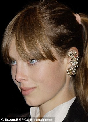 Model of the moment Edie Campbell sparkles in a gem-encrusted Chanel number
