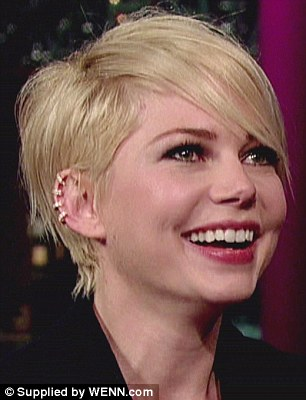 One of the first stars to adopt the trend, Michelle Williams in Repossi's gold and diamond £8,000 ear cuff