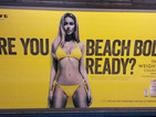 """'Beach body' firm denounces """"terrorists"""" who defaced London posters"""