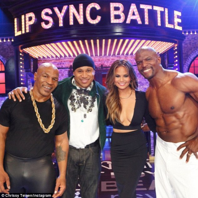 Already scored a second season! Chrissy currently hosts the star-studded Lip Sync Battle alongside LL Cool J (2-L), which airs Thursday nights on Spike TV