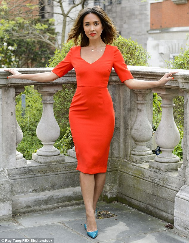 New chapter: Before going public with her boyfriend, Myleene had been single since her husband, Graham Quinn, walked out on her on her 34th birthday in 2012