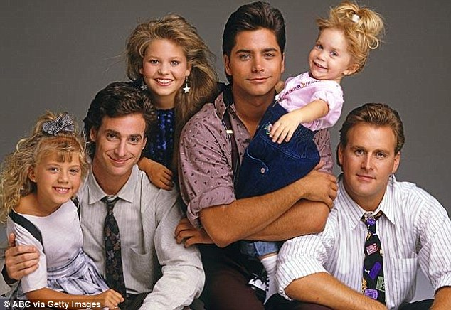 Success story: Full House ran on ABC for eight seasons until it wrapped in 1995