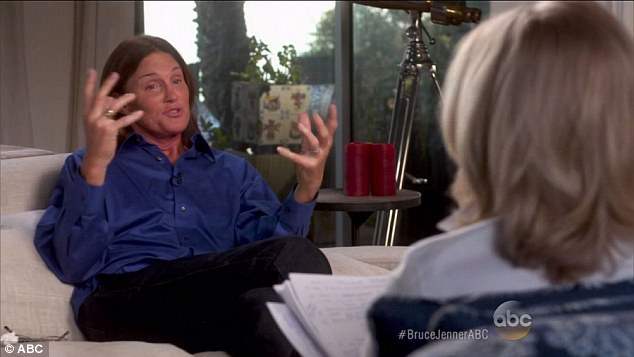 More to come: Bruce Jenner's transformation to living life as a transgender woman WILL be filmed or a docu-series, E! has confirmed