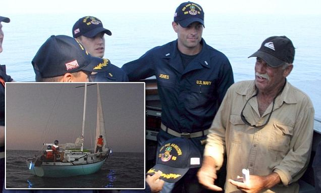 Fisherman Ron Ingraham who was rescued last year is missing AGAIN off coast of Hawaii