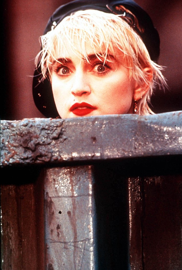 The 80s were known for the 'power brow', with women like Madonna spearheading the dark and bushy look