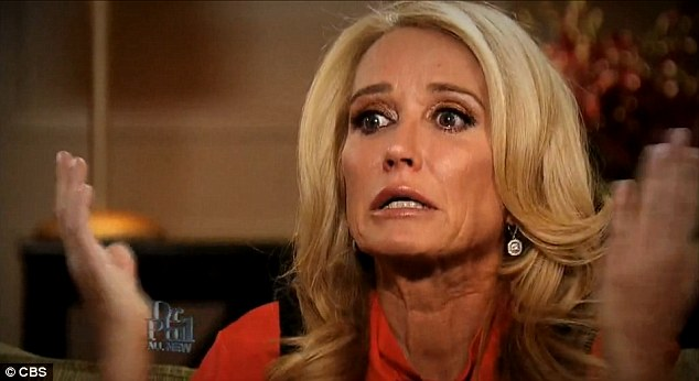 Relented: Kim Richards checked into rehab on Saturday according to TMZ. The Real Housewives star has had a tumultuous fortnight during which she was arrested for allegedly getting into a drunken brawl with a cop
