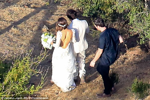 Special time: The couple are said to be 'soulmates' and certainly seemed to be very much in love as they stepped out into the sunshine
