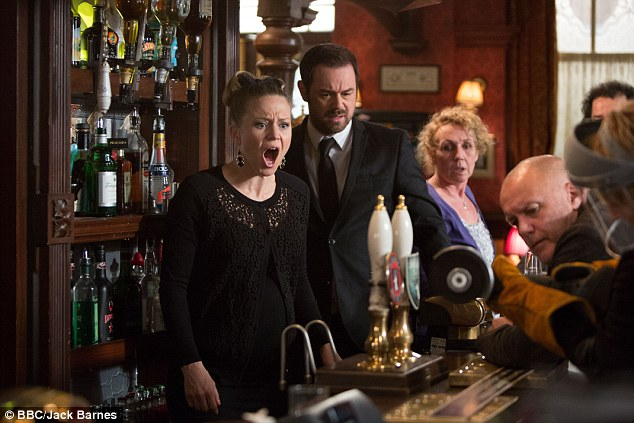 Albert Square drama: EastEnders' Kellie Bright (Linda Carter) and Danny Dyer (Mick Carter) have both received nominations at the 2015 British Soap Awards