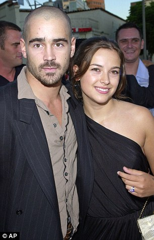 Colin married actress Amelia Warner, now married to Fifty Shades star Jamie Dornan, in 2001 in a ceremony in Tahiti though the marriage wasn't legal