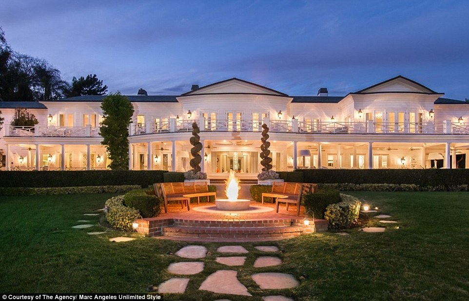 Fashion designer Max Azria's 30,000 sq ft Los Angeles mansion can be yours, as long as you have $85million in spare change