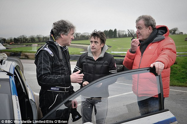 Jeremy Clarkson (right) and his Top Gear colleagues had been on the brink of a lucrative new contract when Clarkson's infamous 'fracas' led to the offer being taken away