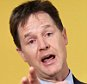 epa04701373 Liberal Democratic Party leader Nick Clegg speaks at the launch of their party's manifesto in London, Britain, 12 April 2015. Britain heads to the polls in the general election slated for 07 May 2015.  EPA/ANDY RAIN
