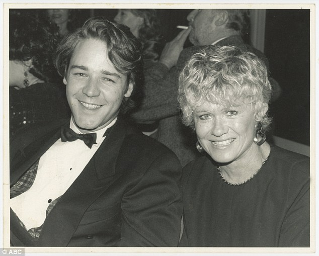 Pomeranz first interviewed Russell Crowe (left) while on set filming The Crossing in 1990