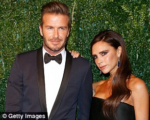David and Victoria Beckham, worth £240million