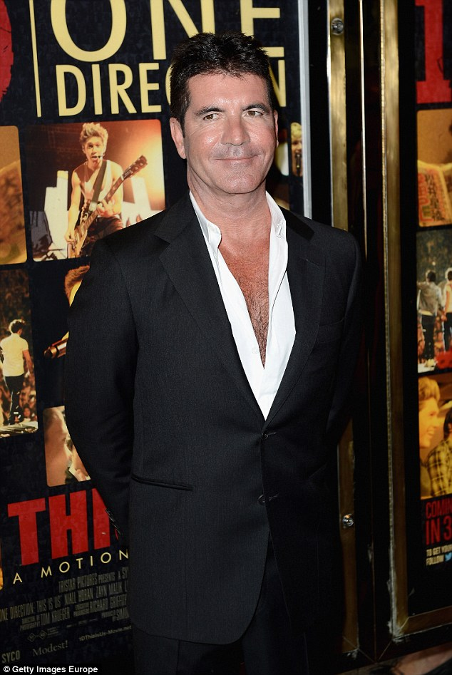 Swipe: Kelly has also slammed her former boss Simon Cowell, who axed her from Britain's Got Talent in 2009 after six days, claiming he was 'disrespectful' as he always turned up hours late during filming