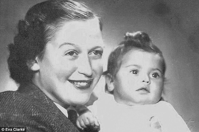 Auschwitz survivor Anka Nathanova concealed her pregnancy and raised her baby Eva (pictured together) in the death camp