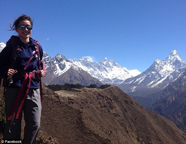 Dr Eva Girawong, 29, was a member of the group and was killed when she was crushed by ice at base camp