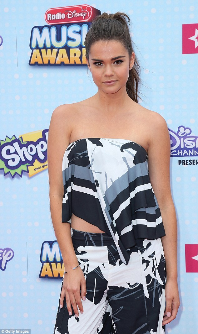 Australian actress and singer Maia Mitchell made a glamorous appearance at the event