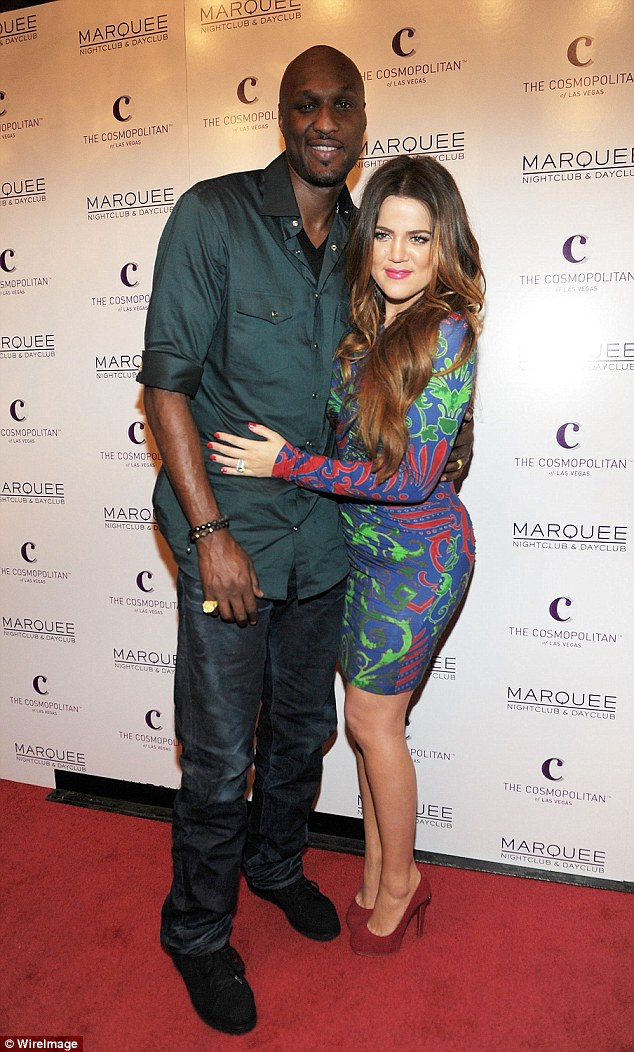Not over yet: Khloe Kardashian and Lamar Odom, pictured in 2011 are reportedly NOT ready to divorce