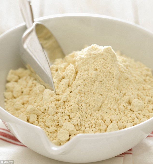 Flour contains gluten which is a protein that the body finds particularly difficult to digest and can cause bloating and nausea, cut right down and experiment with alternatives to see the difference