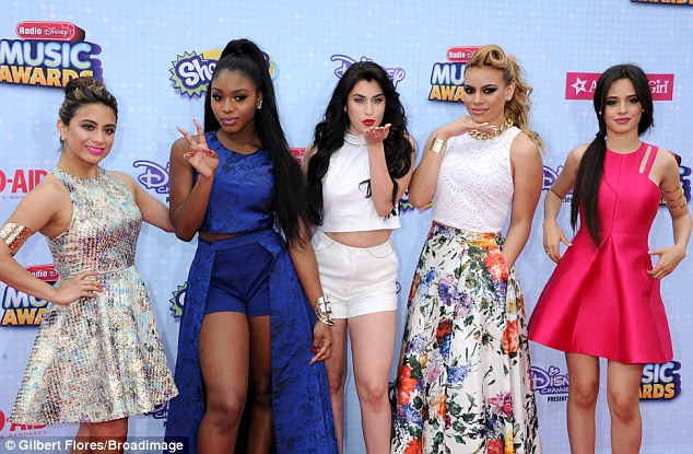 Girl group: Fifth Harmony picked up the award for Best Music Group at the awards ceremony