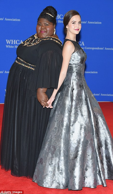 Guests Gabourey Sidibe and Bailee Madison (both pictured left) and businesswoman Martha Stewart (right)