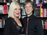 EXCLUSIVE FAO DAILY MAIL ONLINE - GBP 40 PER PICTURE  Mandatory Credit: Photo by Startraks Photo/REX Shutterstock (4715469a)  Tori Spelling, Randy Spelling  Randy Spelling 'Unlimiting You' Book Signing, Los Angeles, California, America - 26 Apr 2015