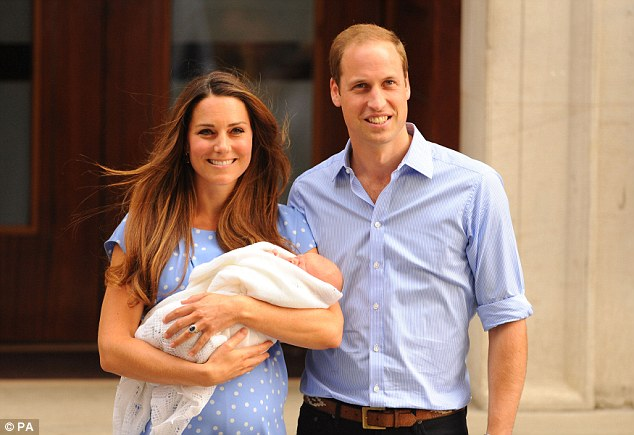 When Prince George was born in July 2013 his birth was first announced in an emailed press release...