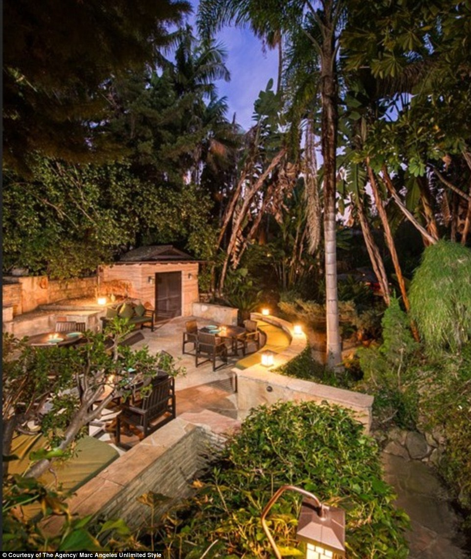 Their backyard now features five distinctly designed French, Japanese,English, Moroccan and herb gardens