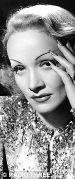 For more than a century, women have loved fiddling with their eyebrows. Pictured: Marlene Dietrich