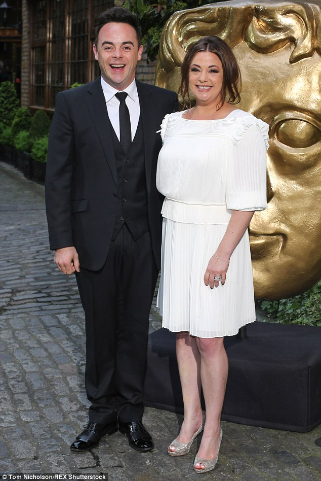 Just the two of us! Ant  and his wife ) spent the evening at BAFTA Television's Craft Awards on Sunday