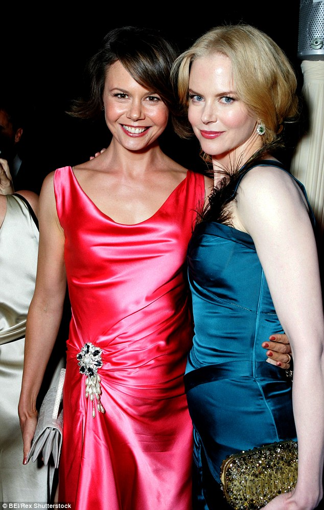 The Kidman sisters: Antonia Kidman is pictured here with her Hollywood star sister Nicole in 2005