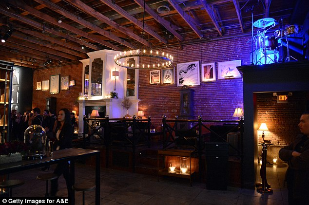 Big spender: The company has also accused him of running up a $1,382 bar tab at the Warwick nightclub in Hollywood, pictured