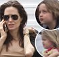 "EXCLUSIVE: *PREMIUM EXCLUSIVE* Angelina Jolie takes daughter Shiloh to see Brad Pitt on set in New Orleans. The mother of six looked a glowing picture of health on the set of husband Brad's latest movie ""The Big Short"". Jolie and daughter Shiloh walked between trailers during Brad's downtime from shooting. The actress recently spoke publicly about her decision to remove her ovaries in an effort to battle a form of cancer that runs in her family, this coming shortly after she underwent a double mastectomy in 2014. \n\nRef: SPL1003814  200415   EXCLUSIVE\nPicture by: Butterworth/Beetham/Splash News\n\nSplash News and Pictures\nLos Angeles: 310-821-2666\nNew York: 212-619-2666\nLondon: 870-934-2666\nphotodesk@splashnews.com\n"