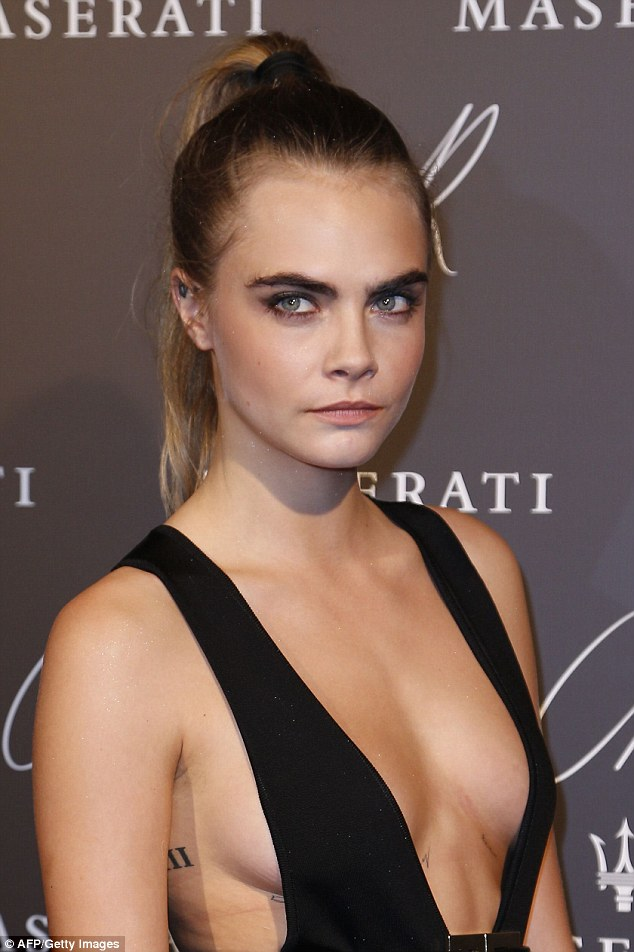 In the last few years, eyebrows have become less styled and more generally bushy, as championed by Cara Delevingne