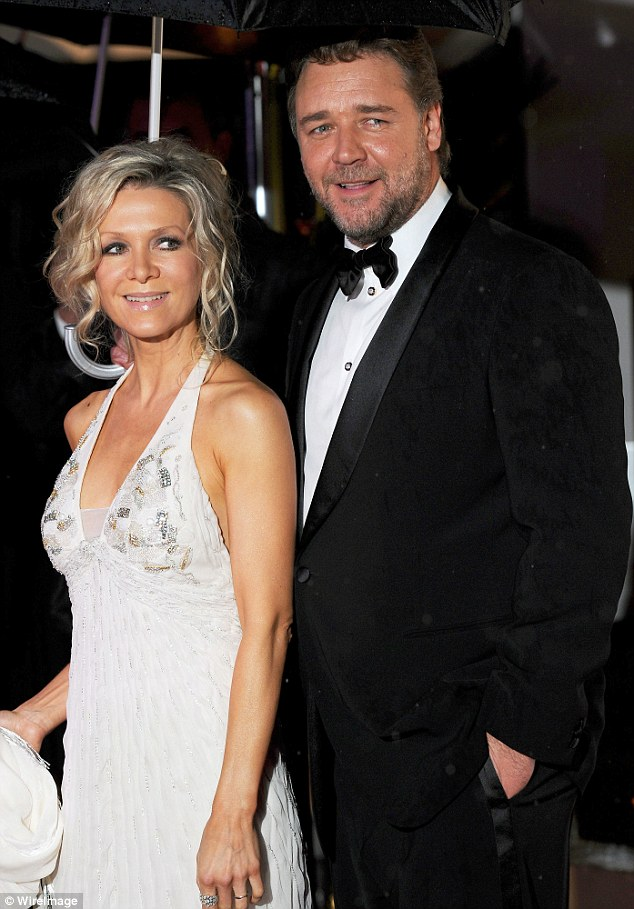 A reconciliation? Russell refuses to let estranged wife Danielle  go following their split in 2012 saying they are discussing what 'separated' means