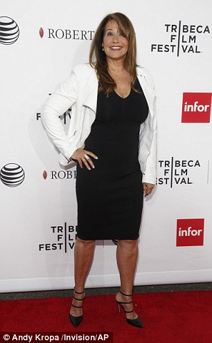 Lorraine Bracco attends a Tribeca Film Festival closing night special screening of Goodfellas at the Beacon Theater on Saturday