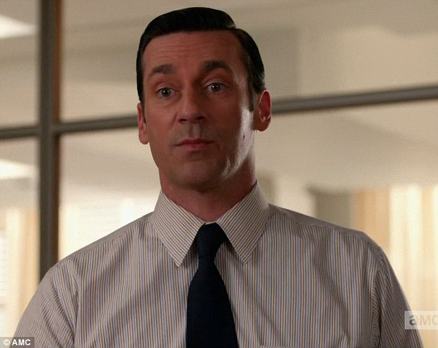 New beginning: Don Draper discovered on Sunday's episode of Mad Men that his agency's parent company was moving Sterling Cooper & Partners to headquarters