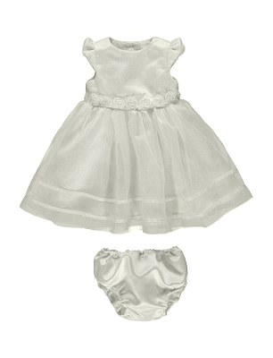 Asda say its gowns and rompers, pictured, which cost £15, allow mothers to buy a traditional christening outfit for a fraction of the price