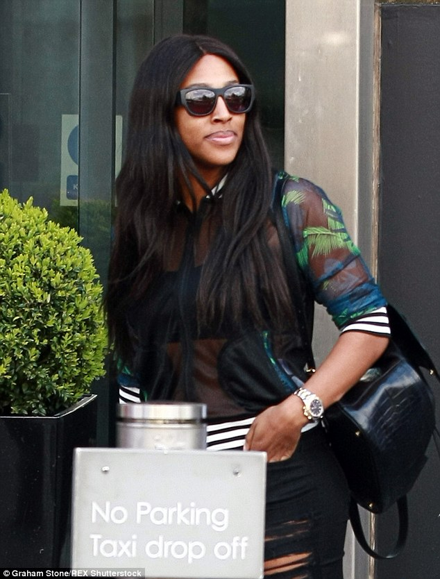 Fashion nspiration: Alexandra has revealed she's taking her cue from Naomi Campbell and Rihanna's sense of style