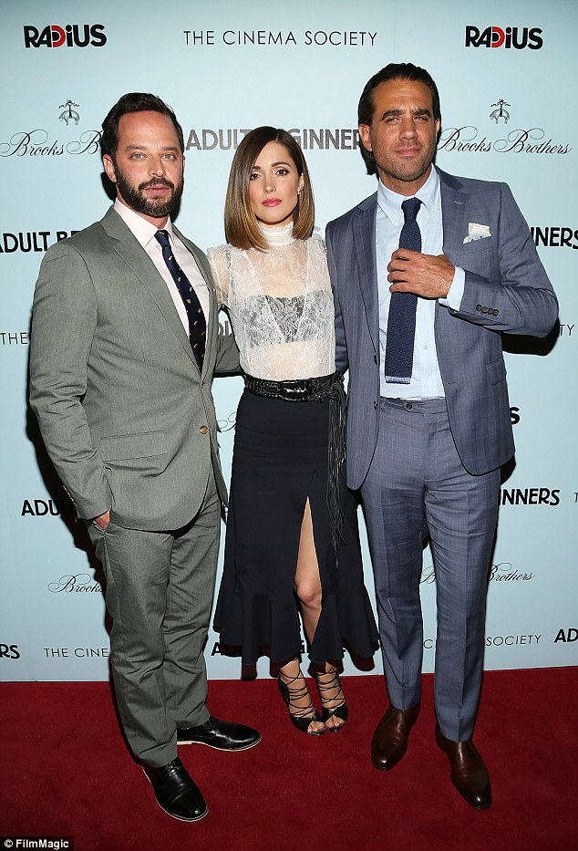 Friends in high places: The New York Post has reported that Rose, 35, snagged him a role on the comedy after going over the script with the film's writer and star Nick Kroll