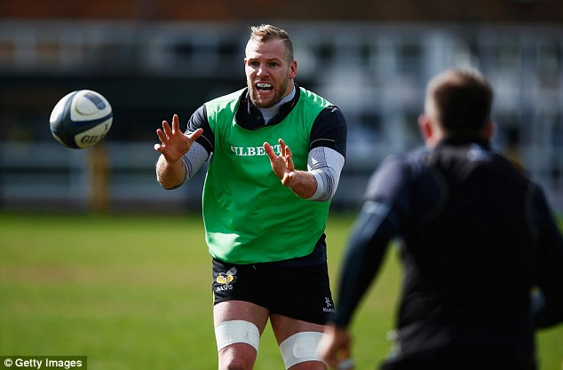 Haskell has played his rugby in France, Japan and New Zealand after leaving the Wasps in 2009