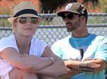 Britney Spears is seen attending her sons soccer game at Pierce College in Woodland Hills, Ca\n\nPictured: Britney Spears\nRef: SPL1010145  260415  \nPicture by: London Entertainment /Splash\n\nSplash News and Pictures\nLos Angeles: 310-821-2666\nNew York: 212-619-2666\nLondon: 870-934-2666\nphotodesk@splashnews.com\n
