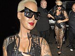 ** EXCLUSIVE IMAGES ** AMBER ROSE CONTINUES HER UK TOUR WITH A VISIT TO FACES IN HODDESTON ESSEX IN A SEE THROUGH MAC AND SUNGLASSES, AMBER WAS SEEN LEAVING THE VENUE AT 2AM-; - SATURDAY APRIL 25TH 2015 - RA-PIX.CO.UK - 07774 321240 - CONTACT ASHLEY MOORE - ASH@AJMIMAGES.CO.UK