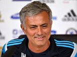 Chelsea FC via Press Association Images MINIMUM FEE 40GBP PER IMAGE - CONTACT PRESS ASSOCIATION IMAGES FOR FURTHER INFORMATION. Chelsea manager Jose Mourinho during a press conference at Cobham Training Ground prior to the Barclays Premier League game against Leicester City on Wednesday.