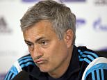 Football - Chelsea - Jose Mourinho Press Conference - Chelsea Training Ground - 27/4/15  Chelsea manager Jose Mourinho during the press conference  Mandatory Credit: Action Images / Henry Browne  Livepic  EDITORIAL USE ONLY.