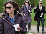 EXCLUSIVE ALL ROUND\n Mandatory Credit: Photo by Joan Wakeham/REX Shutterstock (4719662j)\n Peter Capaldi\n 'Doctor Who' TV show on set filming, Penarth, Wales, Britain - 27 Apr 201\n Jenna Coleman who celebrated her 29th birthday today was seen busy filming a new episode of Dr Who in Wales with Peter Capaldi. After a brief break for lunch the cast and crew gathered round and after a few brief words from Peter Capaldi they all sang Happy Birthday to the actress, and it was back to work.\n