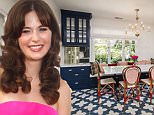 Zooey Deschanel lists Hollywood Hills home for 2.2M
