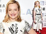 Mandatory Credit: Photo by Erik Pendzich/REX Shutterstock (4719706r)\n Elisabeth Moss\n 42nd Annual Chaplin award gala honouring Robert Redford, New York, America - 27 Apr 2015\n \n