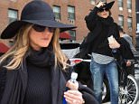 Mandatory Credit: Photo by Startraks Photo/REX Shutterstock (4719672j)\n Jennifer Aniston\n Jennifer Aniston out and about, New York, America - 27 Apr 2015\n Jennifer Aniston Spotted in TriBeCa\n